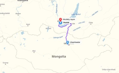 Hitchhiking Mongolia